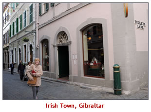 The Heritage of Irish Town Gibraltar