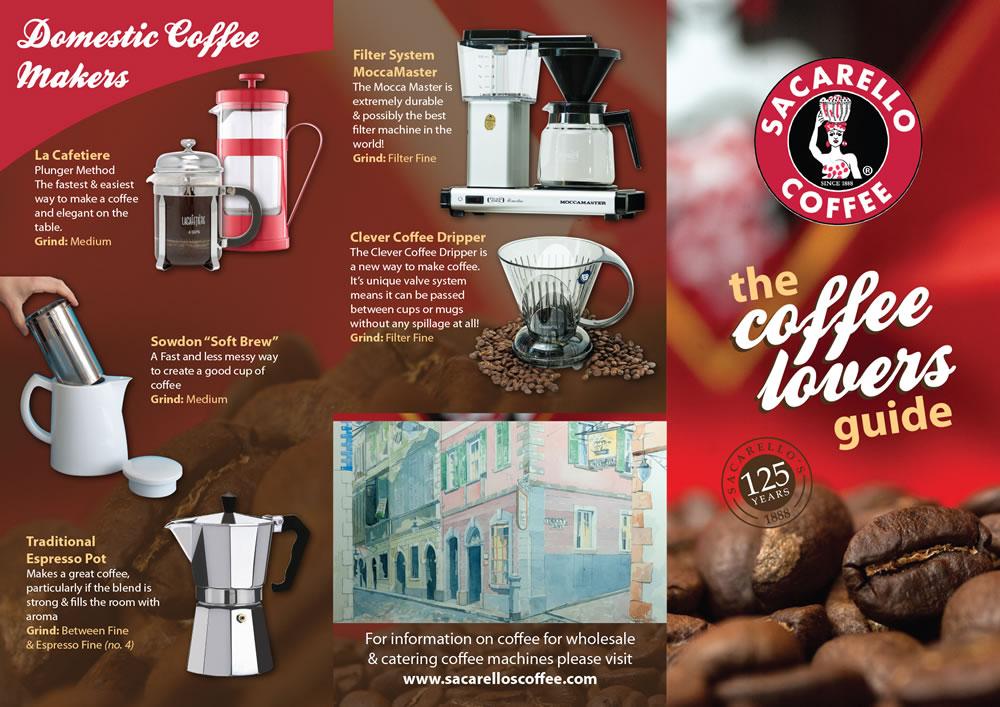 Sacarello Coffee Guide 2014