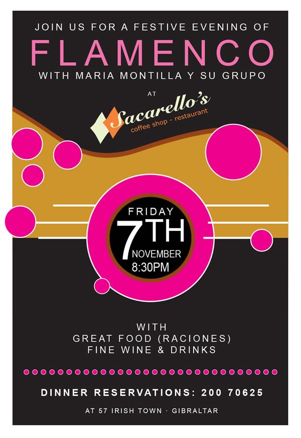 Flamenco at Sacarellos with Maria Montilla
