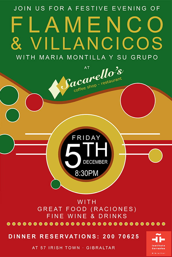 Flamenco & Villancicos at Sacarello's