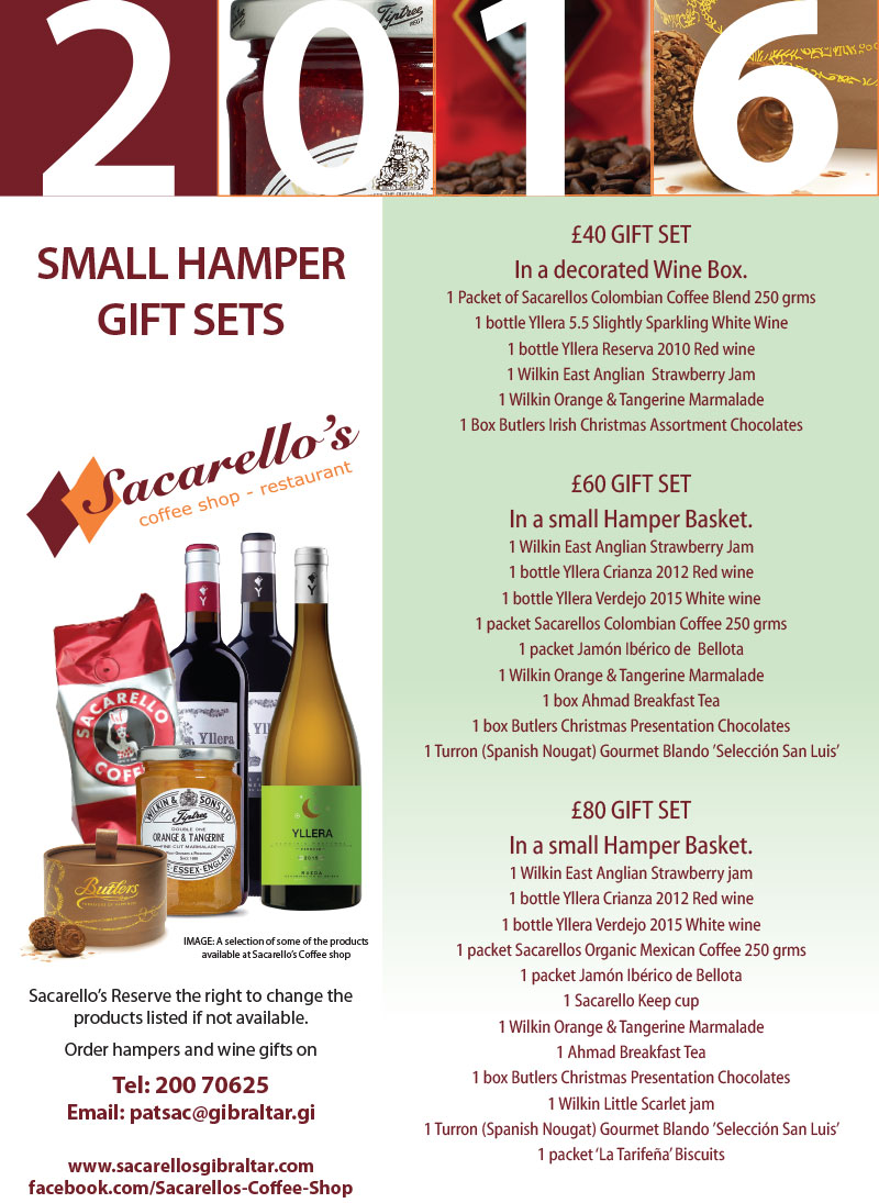 Small Hamper Gifts 2016