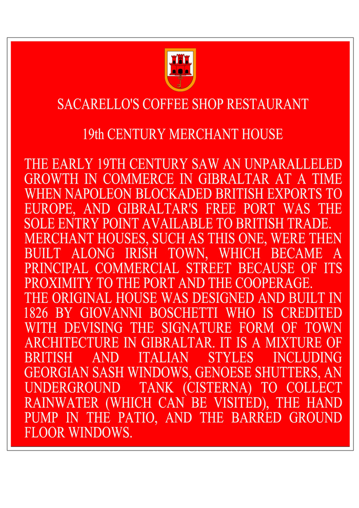 Sacarello's Plaque