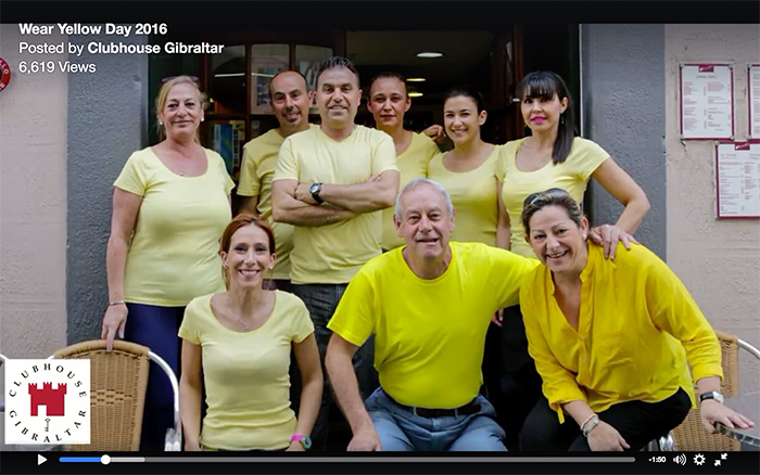 Wear Yellow Day - Sacarello's