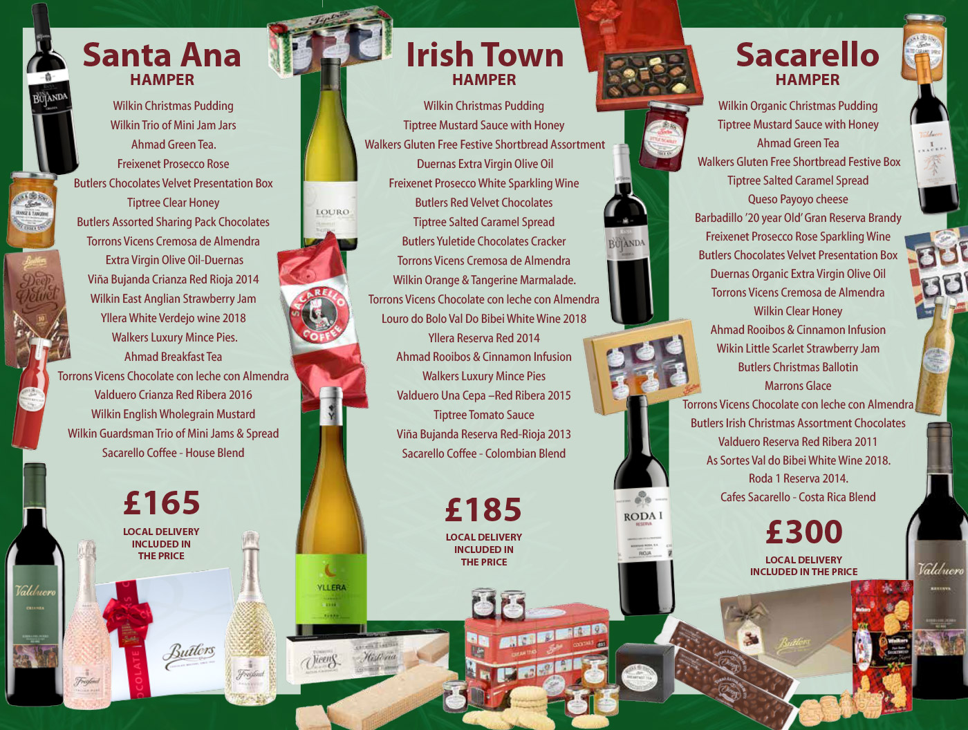 Christmas Hampers from Sacarello's