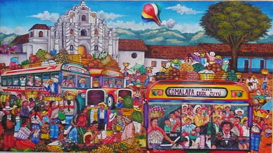 Comalapa Bus Stop