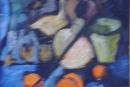 Violin with Oranges