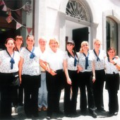 The Sacarello's team in festive Jubilee colours