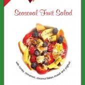 New Breakfast Seasonal Fruit Salad