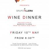 Yllera Wine Dinner